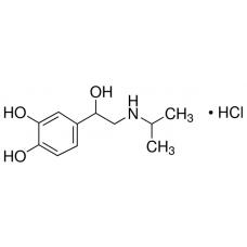 Isoprenaline hydrochloride, Sigma-Aldrich, CAS  51-30-9