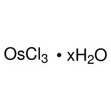 Osmium(III) chloride hydrate, Sigma-Aldrich, CAS  14996-60-2