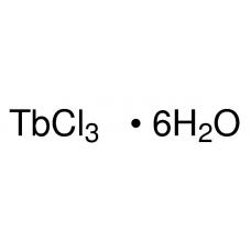 Terbium(III) chloride hexahydrate, Sigma-Aldrich, CAS  13798-24-8